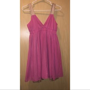 👗Dress Sale 2 for $19. Pink dress with lace trim